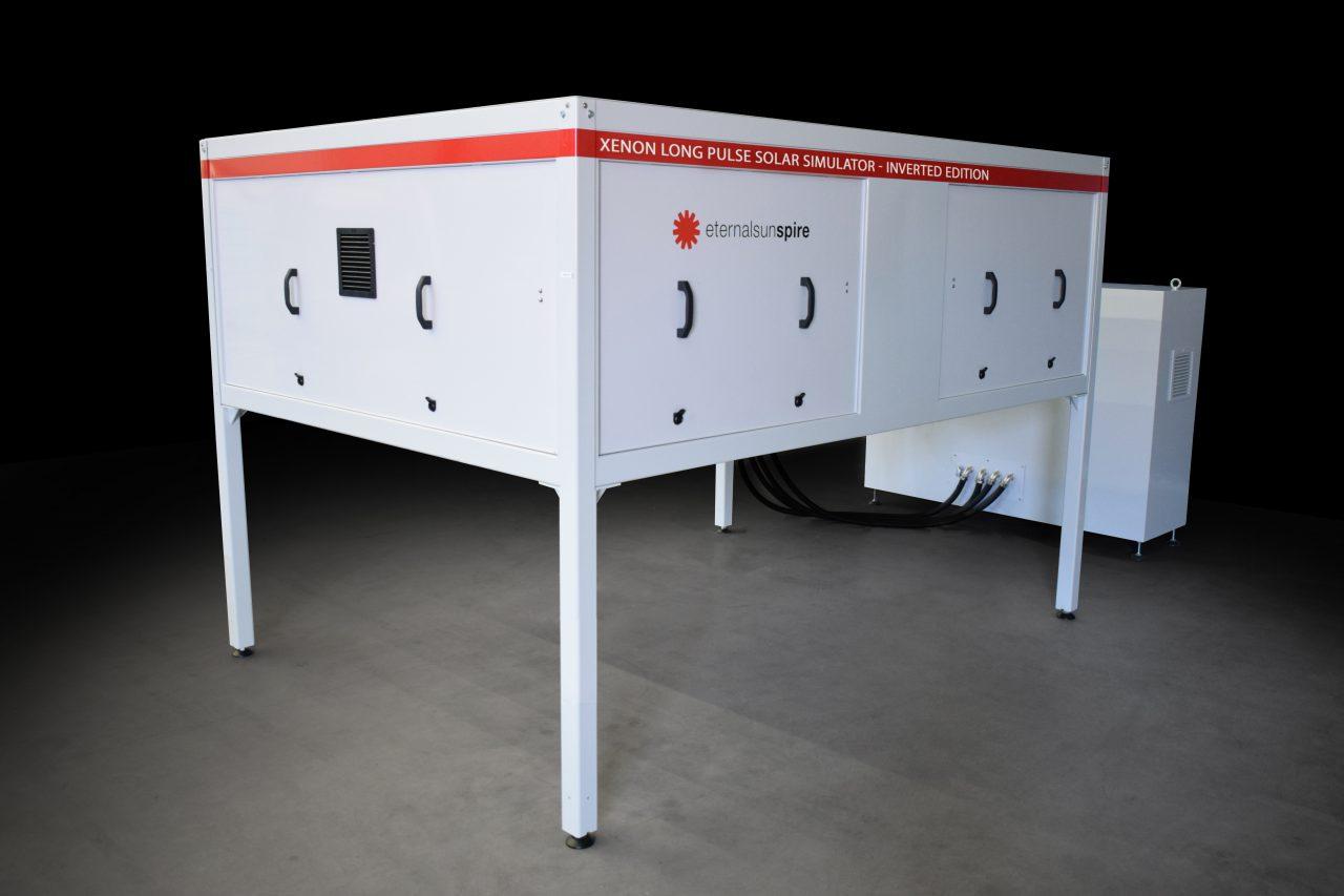 Spire solar simulator inverted