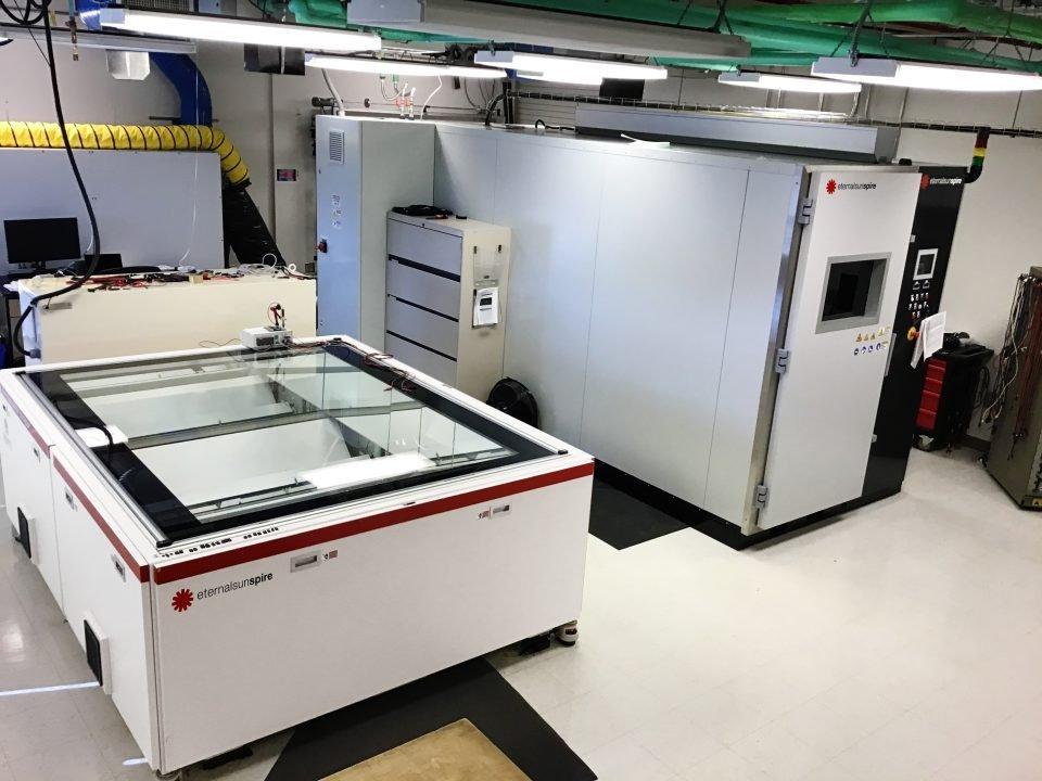 NREL PV calibration with solar simulators