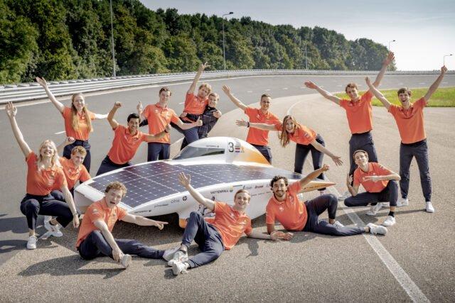 Vattenfall solar car team