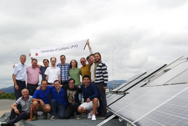pv modules outdoor testing university of of Ljubljana